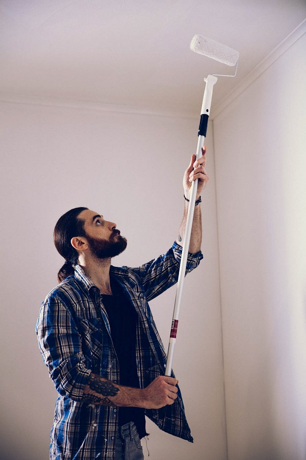 Målning av tak